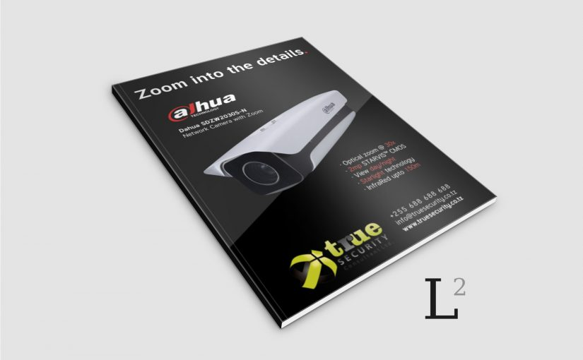 Print advertising for digital security firm